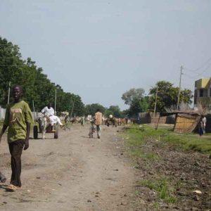 Malakal South Sudan street by rob rooker aka gigglingbob