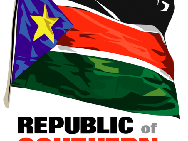 republic of south sudan by rob rooker aka gigglingbob