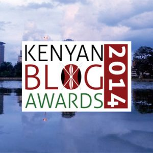 kenya blog awards 2014 logo design by rob rooker aka gigglingbob