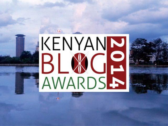 kenya blog awards 2014 logo design by rob rooker aka gigglingbob